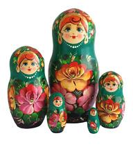 POUPEES RUSSES POUPEE GIGOGNE MATRIOCHKA RUSSE PEINTE A LA MAIN PAR KOLESNIKOVA