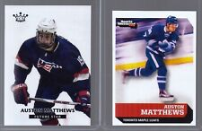 "(2) AUSTON MATTHEWS 2015 SPORTS ILLUSTRATED '1ST EVER PRINTED"" 2 CARD ROOKIE LOT"