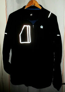 Mens Admiral Activewear Jacket ~ Black ~ UK L ~ Ideal for Running/Cycling
