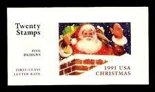 U.S. Mint P.O. Complete 29c- #BK194 - Holiday Cele. Santa Claus #2580 - 2585