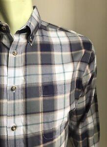 Maker & Company Shirt, Waltham Plaid, Medium, Exc Condition