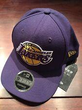 New Era NBA Purple Los Angeles LA Lakers 9Fifty Classic Snapback Hat Cap NWT