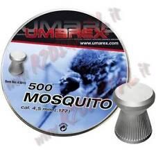 PIOMBINI UMAREX MOSQUITO CAL 4.5 mm TESTA PIATTA 500 PZ PALLINI ARIA COMPRESSA