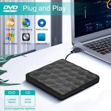 USB 3.0 Externes CD DVD Drive Laufwerk Brenner Player Type-C für Laptop Desktop