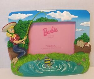 BARBIE WITH LOVE  PICTURE FRAME -1996 Matrix Mattel Fishing Vintage VTG