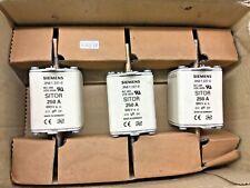 3x Siemens  3NE1227-0   HLS-Sicherungseinsatz                             620/18