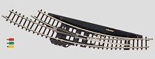 Märklin Z Gauge 8569 Electromagnetic Switch Track Right Radius 195 MM New+Boxed