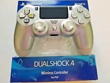 SONY PLAYSTATION 4 SILVER - CHROME CONTROLLER WITH BULLETS AND ALLOY THUMBSTICKS