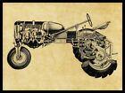 Allis Chalmers Tractors NEW Metal Sign: AC Model CA Schematic Cutaway View