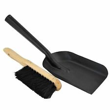 Heat Proof Fireplace Fire Place Camping Coal Ashes Heater BBQ Shovel Brush Set