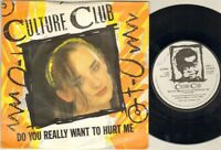 "CULTURE CLUB Do You Really Want To Hurt Me 7"" VINYL"