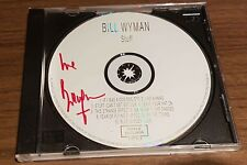 Bill Wyman - Rolling Stones - Original Autogramm auf CD