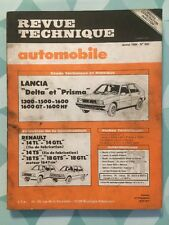 Revue Technique LANCIA Delta et Prisma 1300 1500 1600 1600 GT et 1600 HF