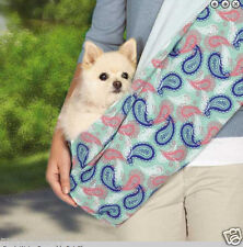 new lined Reversible Sling Pet Dog Cat double sided one size for small dogs $35
