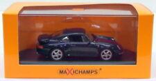 Modellini statici di auto, furgoni e camion blu MINICHAMPS Porsche 911 Turbo