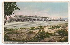 1911 Fred Harvey Postcard Escalante Hotel Ash Fork AZ