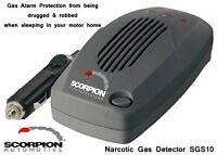 Gas Alarm MSG150 Dual Sensor Alerts CO, LPG, Knockout Gas, Motorhome 12v 24v