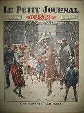 MENDIANTS EXPLOITATION D'ENFANTS CATHERINETTE ET LE PENDU LE PETIT JOURNAL 1925