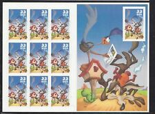 US Scott # 3391 Wile E Coyote & Road Runner Mint Pane of 10 issued in 2000