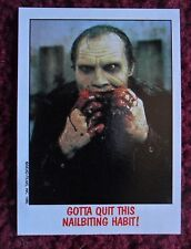 1988 Topps FRIGHT FLICKS Horror Movies Trading Card #3 ~ DAY OF THE DEAD