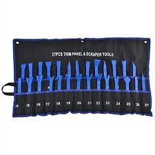 27pc Trim Panel Tool Set Clip Removal Remover Scraper Non Scratch Car