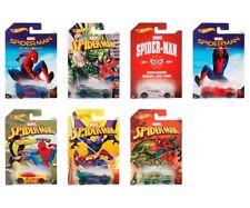 Hot Wheels Spiderman 7 Fahrzeuge Mattel DWD14
