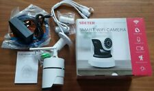 SDETER Wifi Security Camera Colorful Night Vision CCTV Camera, IP