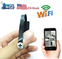 wireless WiFi IP Spy camera hidden DIY Screw peephole Mini Camera DVR recorder