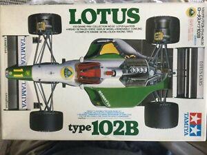 Tamiya 1:20 Scale Lotus Ford 102B Hakkinen / Bailey Model Kit - New # 20030*1300