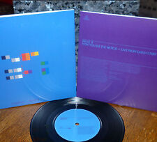 """*<* UNPLAYED MINT COLDPLAY """"WHAT IF/HOW YOU SEE THE WORLD"""" AUDIOPHILE 45/SLEEVE!"""