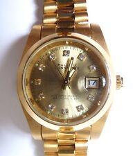 Montre bracelet femme PHILIPPE CONSTANCE quartz métal doré fonctionne