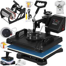 5 en 1 Presse à Chaud T-shirt Pressure Machine 1250W Commande Numérique à LED