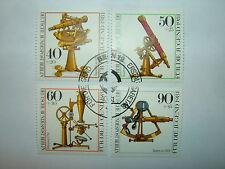 1981 WEST BERLIN YOUTH WELFARE OPTICAL INSTRUMENTS SET VFU (sgB613/6) CV £5.75