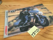 Yamaha XVZ1300TF Royal Star Venture brochure catalogue moto prospectus pub