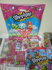 SHOPKINS SHOWBAG- FULL of Shopkins items Tin locker, eraser, bag, Stickers B NEW