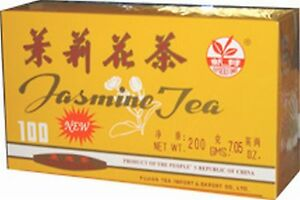 100 Natural Health Chinese Jasmine Tea Bags Calorie Controlled Diet Compliment