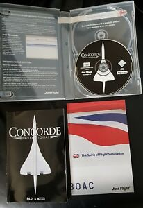 Concord Professional Expansion For  Flight Simulator 2004