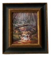 Excellent Contemporary Plein Air Impressionist O/B Painting by Cheryl Keefer