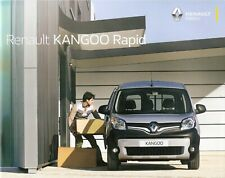 Prospekt / Brochure Renault Kango Rapid 01/2016 mit Preisliste