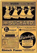 Suchard Cacao Milka Dürkopp Bielefeld Knipperdolling Eystruper Spargel Weck 1907