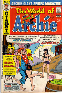 WORLD OF ARCHIE #213 - 1973 - Vintage ARCHIE Comic VG
