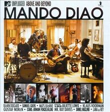 MTV Unplugged Above & Beyond Mando Diao CD 2010 Universal FAST FROM USA SHIPPING