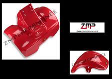 NEW HONDA ATC70 78 - 85 PLASTIC RED FRONT AND REAR FENDER SET PLASTICS