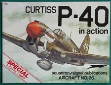Vintage Squadron Signal Magazine Curtiss P-40 In Action Aircraft No. 26