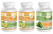 2 Garcinia Cambogia Extract + Green Coffee Extract Weight Loss Combo (2+1)