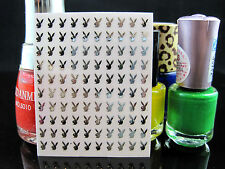 Lady Nail Sticker Metal 3D Nail Art Stickers ~~Design 10023 18ct Gold Colour