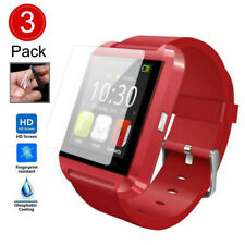 3PCS HD FULL COVERAGE PROTECTIVE FILM SCREEN PROTECTOR FOR GT08/G60 SMART WATCH