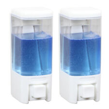 480ml  Liquid Hand Soap dispenser capacity Bathroom Shower Lotion Wall Mounted