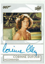 James Bond Collection 2019 Autograph Card A-CC Corinne Clery Corinne