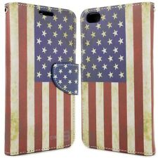 for HTC One X9 Wallet Case - USA Flag Design Folio Phone Pouch